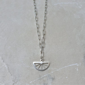CITRUS NECKLACE SILVER