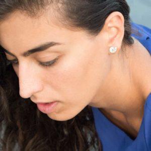 CLAXON stud earrings