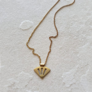 SCALLOP NECKLACE GOLD