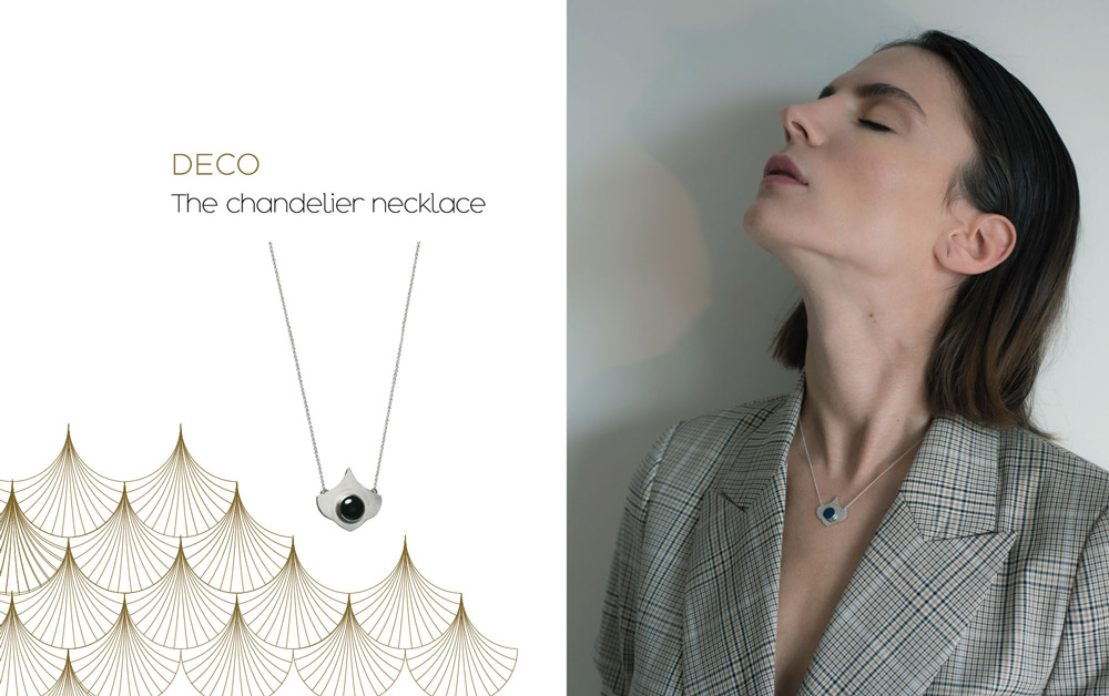 webdeco CHANDELIER NECKLACE